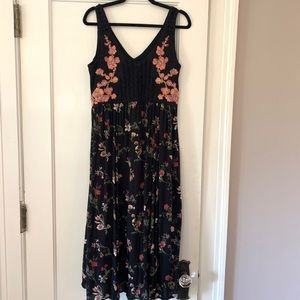 Floral Midi Dress by Maeve